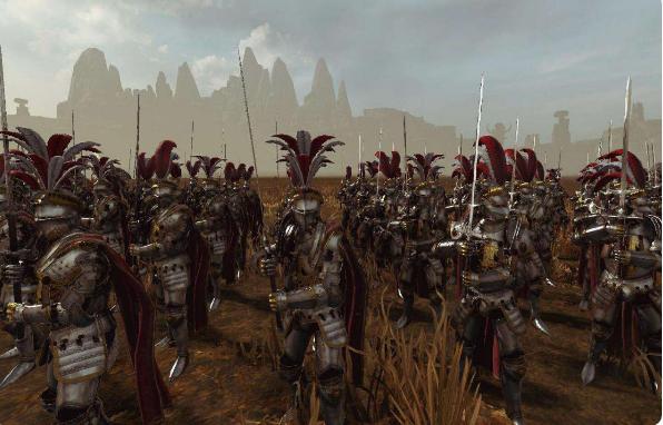帝国兵种新兵模MOD-战锤