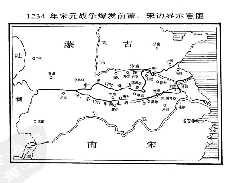 南宋收复故都行动,给了蒙古入侵口实,端平入洛有错吗?
