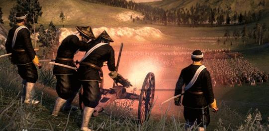 幕府将军2:全面战争 武士跌倒变态机关枪MOD