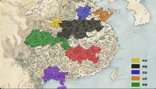 三国更新 内政和战略地图 人口、经济声望、补给mod