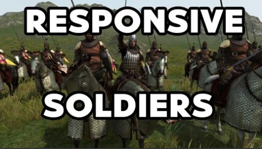 骑马与砍杀2 反应灵敏的士兵mod