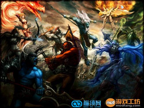 魔兽全面战争v1.9 整合版