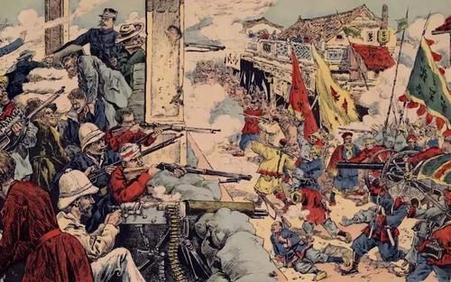 八国联军侵华的时候,看到清朝的军火库直接震惊了!